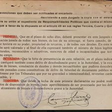 Represión franquista - Barrillos